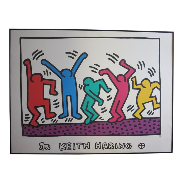 Untitled by Keith Haring Print - Image 1 of 4