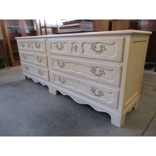 Baker Furniture Side-By-Side Double Chest of Drawers For Sale - Image 5 of 11