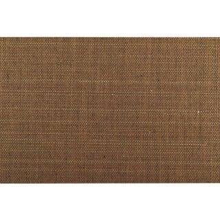 Sample, Maya Romanoff Island Weaves: Teak - Woven Jute & Paper Wallcovering For Sale