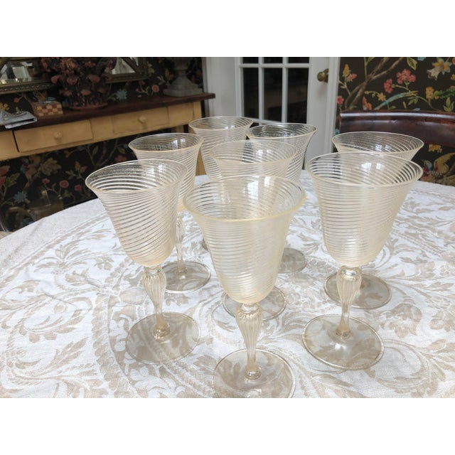 Vintage Venetian Glassware/Barware - 32 Piece Set For Sale In Richmond - Image 6 of 8