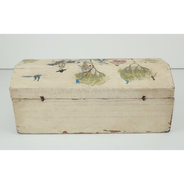 Wood Salvador Corona Mexican Folk Art Wood Box, C.1940 For Sale - Image 7 of 13