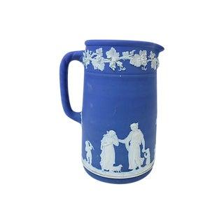 Antique Wedgwood Jasperware Pitcher For Sale