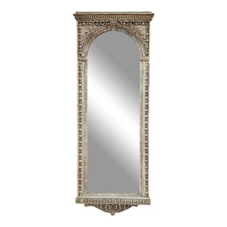 Antique Arched Wall Mirror For Sale