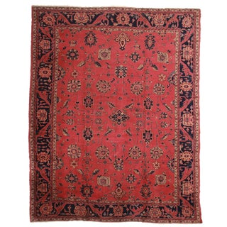 RugsinDallas Antique Hand Knotted Wool Turkish Sparta Rug With Oushak Design - 11′5″ × 15′4″ For Sale