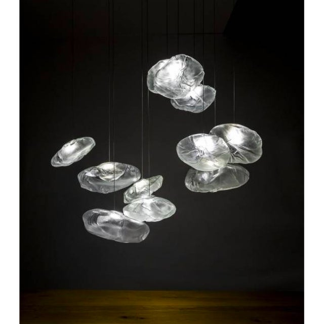 Metal Contemporary Bocci Led Bubble Chandelier For Sale - Image 7 of 12