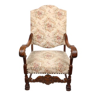 William and Mary Style Armchair