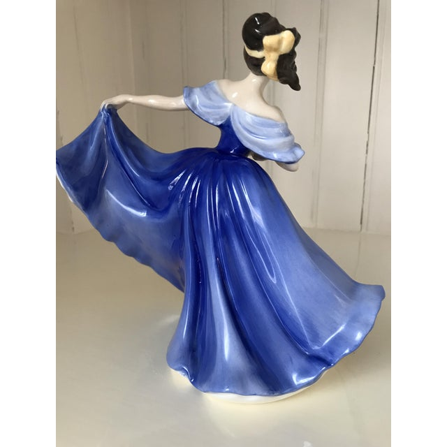 "Royal Doulton Royal Doulton ""Elaine"" Figurine For Sale - Image 4 of 8"