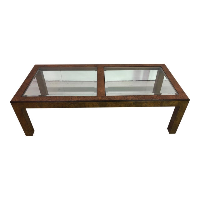 Mid-Century Modern John Widdicomb Parsons Style Coffee Table For Sale
