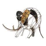 Image of John Jagger Brutalist Elephant Sculpture For Sale