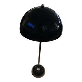 Space Age Saucer Flowerpot Table Lamp For Sale