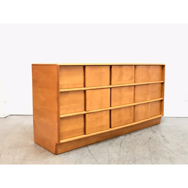 Mid Century Modern Heywood Wakefield Dresser For Sale - Image 11 of 11