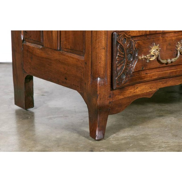 18th Century Regency Period Lyonnaise Commode Galbée For Sale - Image 9 of 10