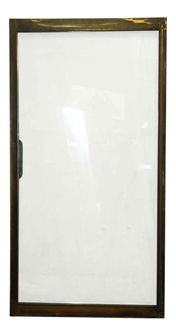 Mid-Century Brass Frame Sliding Doors  sc 1 st  Chairish & Vintage u0026 Used Mid-Century Modern Doors and Gates | Chairish