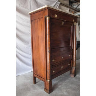 19th Century French Empire Marble Top Secretaire Preview