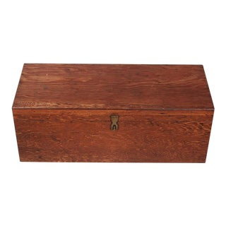 Mid-Century Travel Trunk For Sale