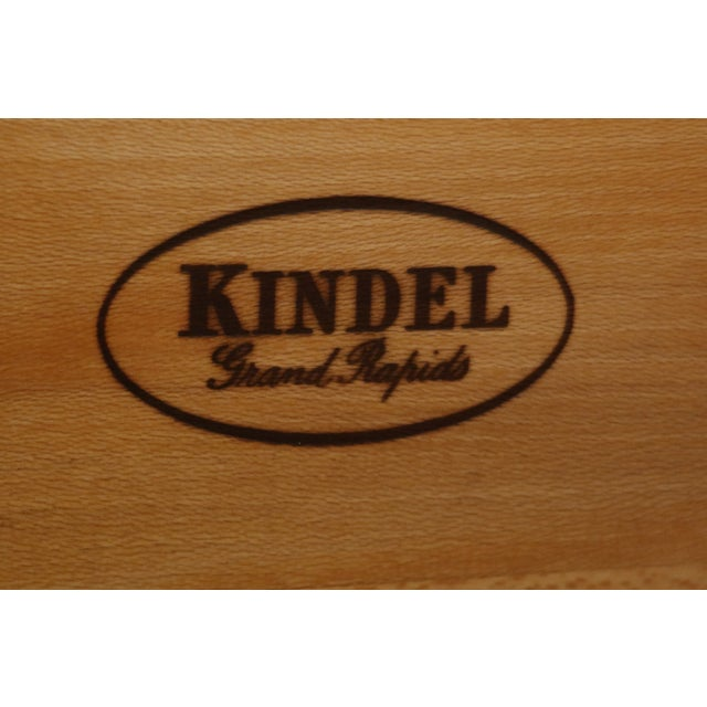 Kindel Oxford Mahogany Federal Sideboard W. Brass Gallery For Sale - Image 10 of 13
