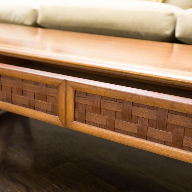 Lane Perception Coffee Table in Walnut - Image 4 of 11