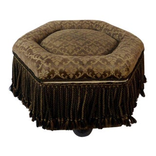 Six Sided Upholstered Footstool