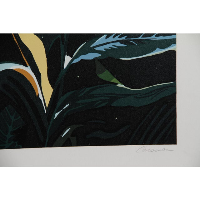 Artist: Jon Carsman, American (1944 - 1987) Title: Palmettos Year: circa 1979 Medium: Serigraph, signed and numbered in...