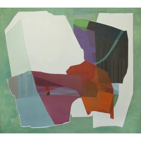 """Original work by Susan Cantrick. Acrylic painting on paper """"Painting as possibility – an act of faith rather than a..."""