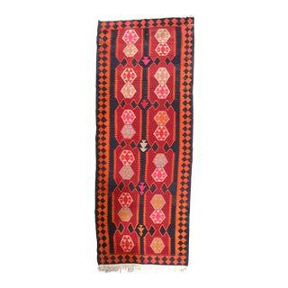 "Pasargad NY Antique Persian Shiraz Kilim Rug - 4'9"" x 12'4"""