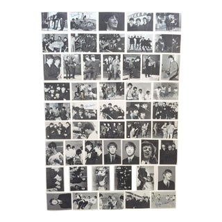 "Rare Vintage 1964 Mid Century Topps "" Beatles 3rd Series "" Signature Trading Cards - Complete Set of 50 For Sale"