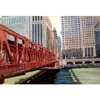 'Into Chicago' Giclee Print by Josh Moulton For Sale