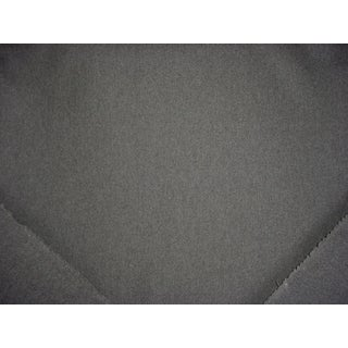 Kravet Couture Jefferson Charcoal Gray Wool Upholstery Fabric - 11 1/8 Yards For Sale