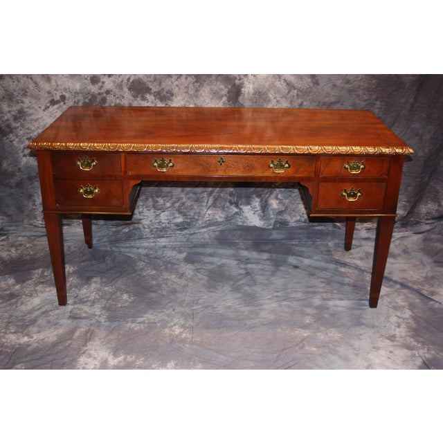 Gold Baker, Historic Charleston Collection Writing Desk For Sale - Image 8 of 9