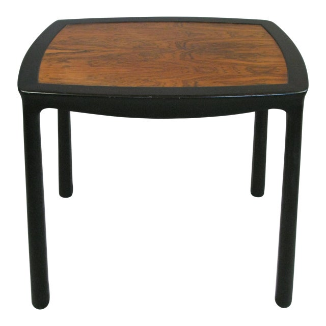 Vintage 1960s Mahogany & Rosewood Table by Edward Wormley for Dunbar For Sale