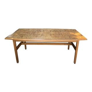 Vintage Monteverdi Young Burlwood Dining Table For Sale