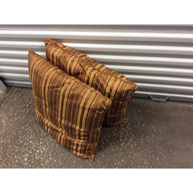 Custom Silk Chenille Silk Pillows - A Pair - Image 3 of 3
