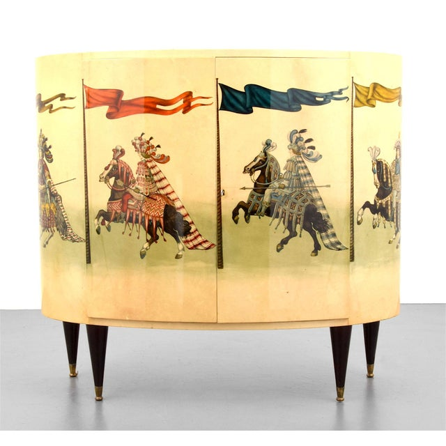 Italian 1960s Bar Cabinet by Aldo Tura For Sale - Image 11 of 11