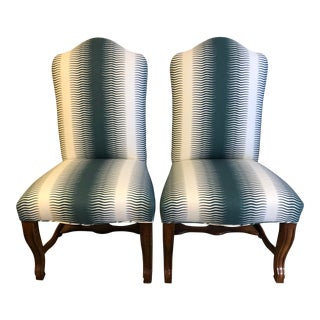 Vintage Bergere Chairs- a Pair For Sale