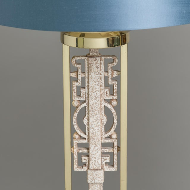 Mid-Century Modern An Unusual Pair of Oriental Inspired Table Lamps 1970s For Sale - Image 3 of 5