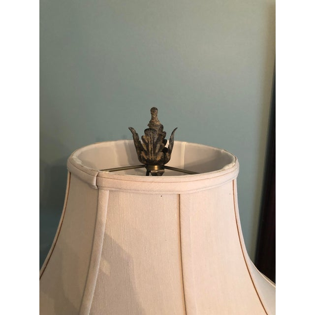 2000 - 2009 Table Lamp & Lamp Shade For Sale - Image 5 of 9