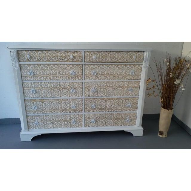 Pennsylvania House 10-Drawer Dresser - Image 3 of 10