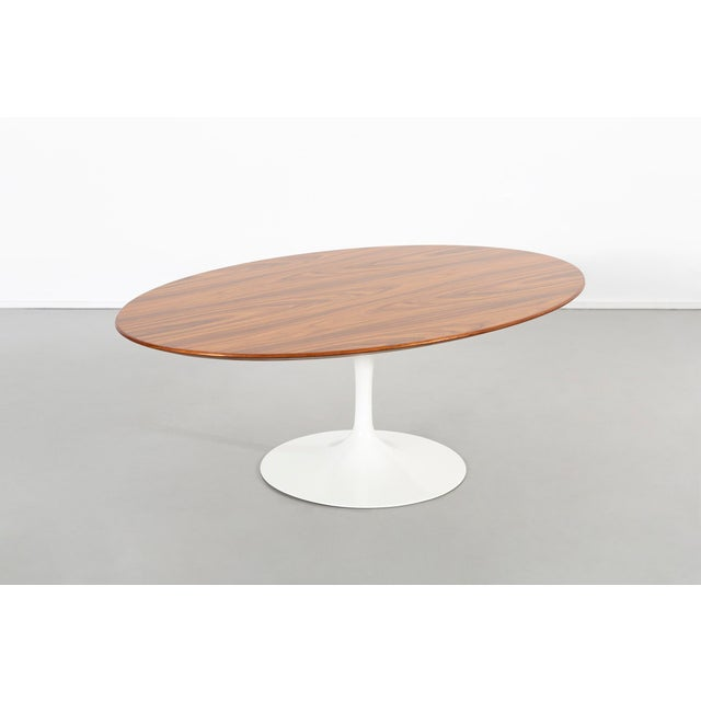 Eero Saarinen for Knoll Rosewood Coffee Table 50th Anniversary Edition For Sale - Image 9 of 9