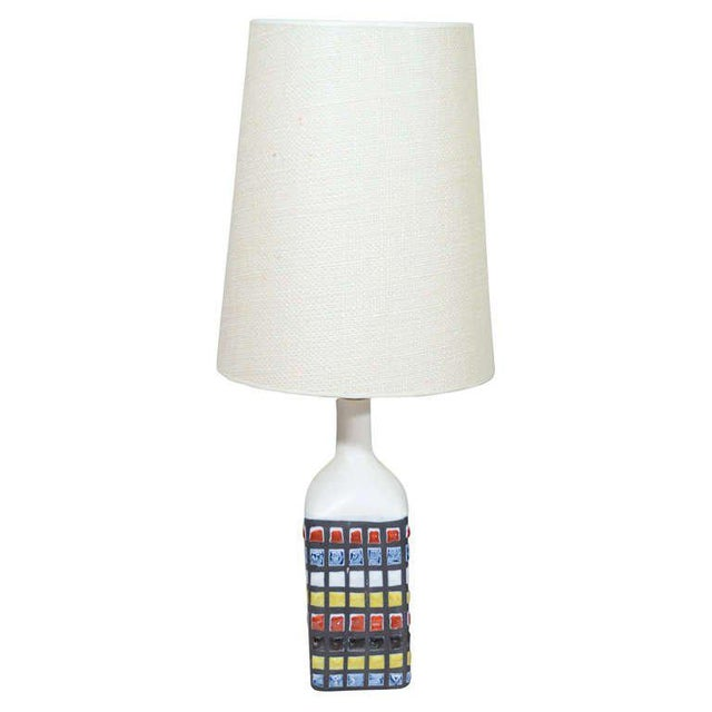 Mid-Century Modern Roger Capron Table Lamp For Sale - Image 3 of 3