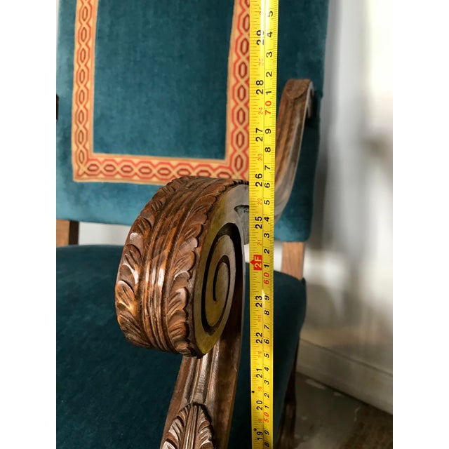 Louis XIV Style Os De Mouton Armchairs, a Pair For Sale - Image 11 of 12