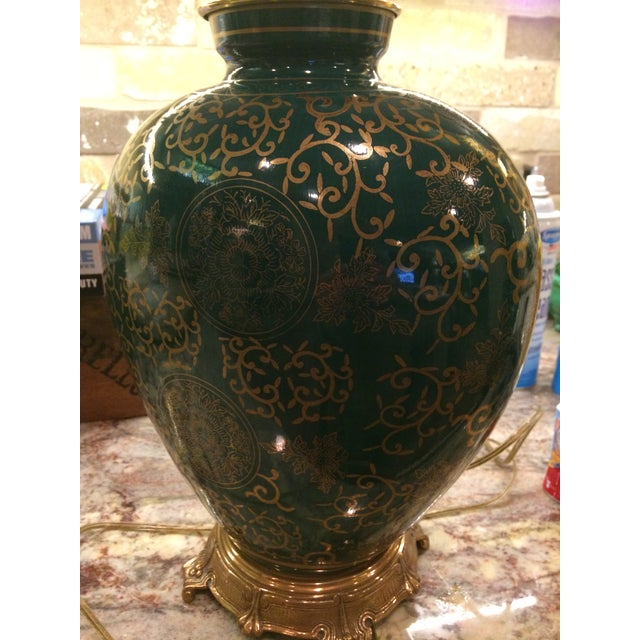 Frederick Cooper Asian Inspired Ginger Jar Table Lamp For Sale In Dallas - Image 6 of 7