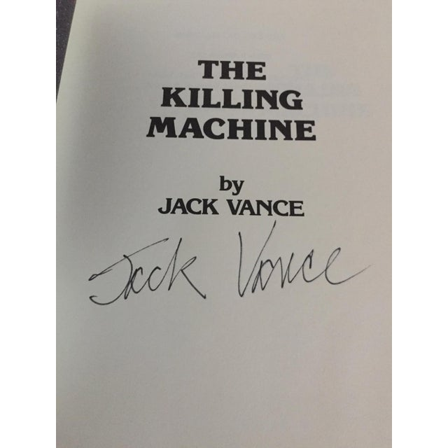 """Art Nouveau """"The Demon Princes Series"""" Leatherette Volumes by Jack Vance, Signed - 5 Books For Sale - Image 3 of 8"""