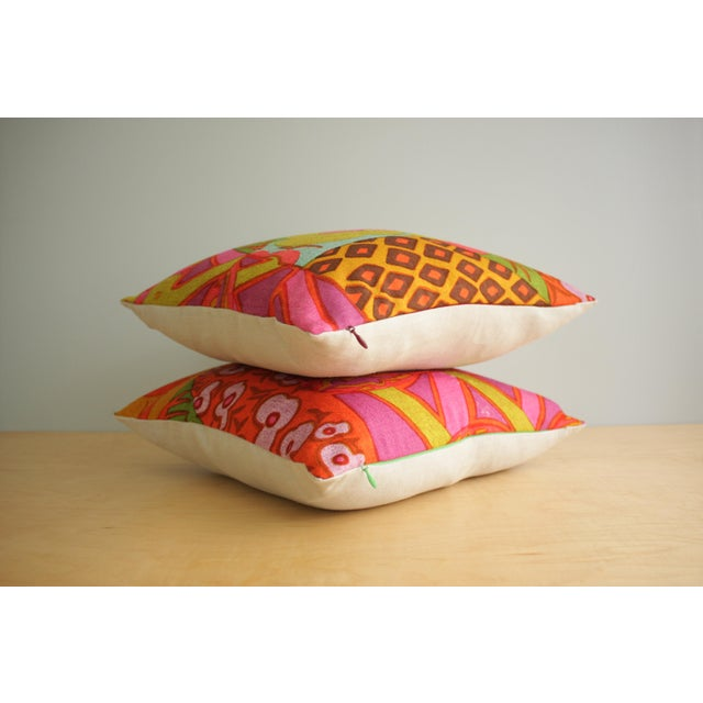 Textile Mid-Century Modern Jack Lenor Larsen Pillow Anthony Ballatore Design Accent Pillow For Sale - Image 7 of 11