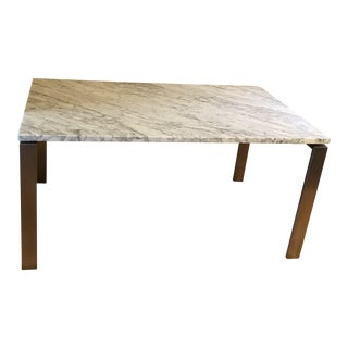 Room & Board Rand Marble Topped Dining Table
