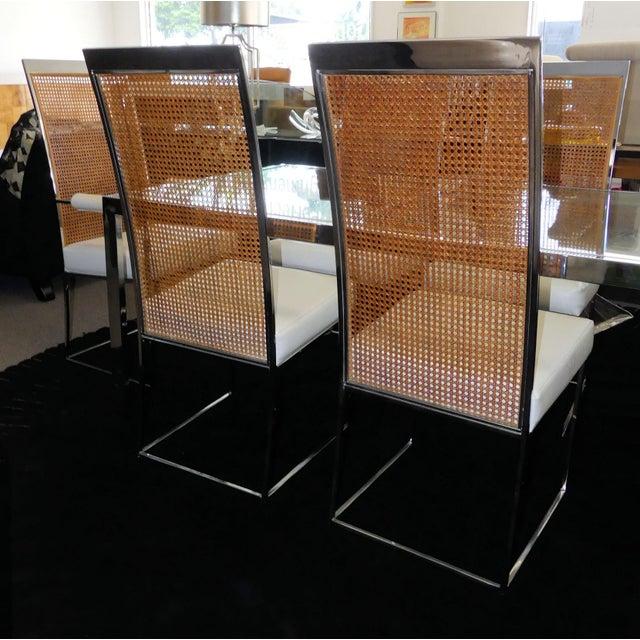 Milo Baughman for Thayer Coggin 1970s Mid-Century Modern Milo Baughman Thayer Coggin Dining Set - 7 Pieces For Sale - Image 4 of 13