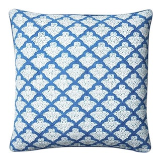 "Roberta Roller Rabbit Blue ""Jemina"" Pillow Cover For Sale"