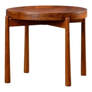 Mid Century Modern Jens Quistgaard Teak Side Table For Sale