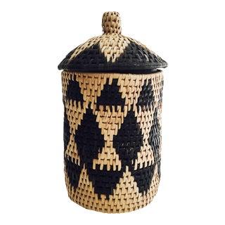 Vintage Southwestern Coil Basket or Jar