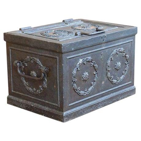 Antique Iron Safe For Sale