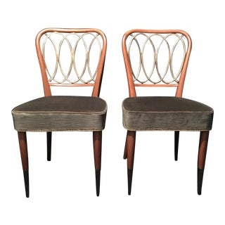 Italian Gio Ponti Chairs - a Pair